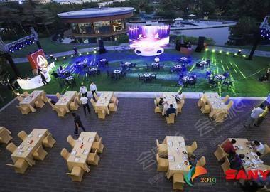 三一重工2020年度峰会欢迎晚宴 场地