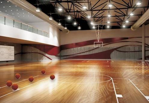副馆篮球练习场