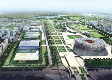 北京奥林匹克公园中心区
