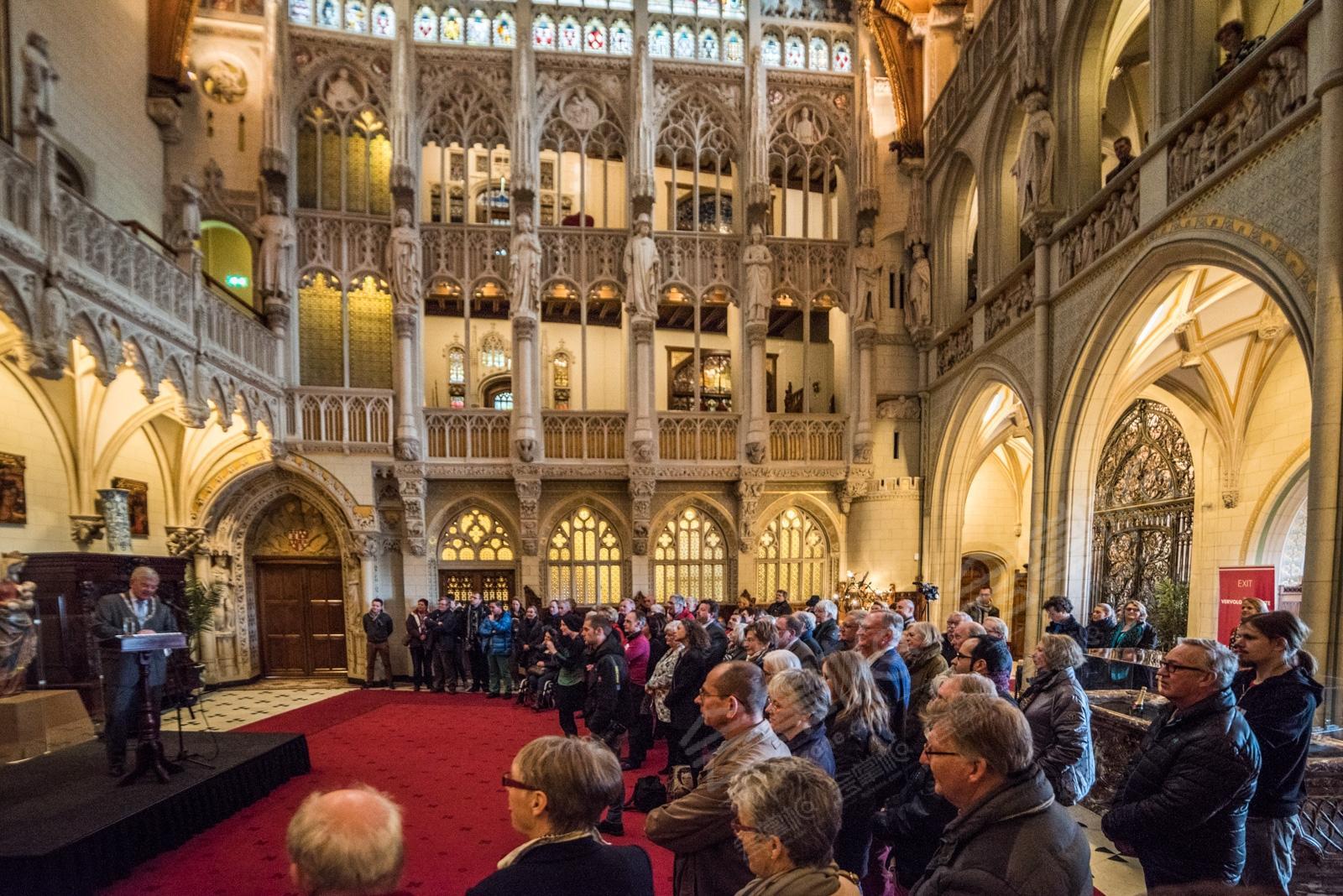 荷蘭德哈爾城堡動態:荷蘭德哈爾城堡 Main Hall 過往案例,荷蘭新哥特式建