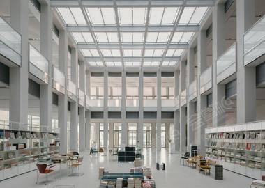 美术馆展厅