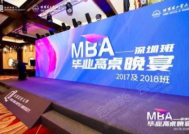 浸会大学MBA-深圳班毕业高桌晚宴2017及2018班