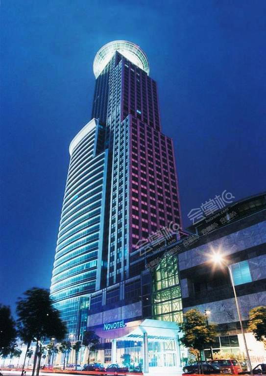 上海百人工作总结会酒店推荐:上海海神波塞冬诺富特大酒店
