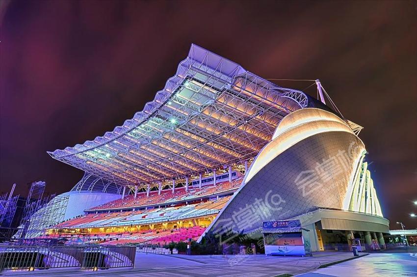 廣州 |周年慶典場地,萬人發布會場地推薦:海心沙體育場