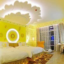 向日葵花双床房