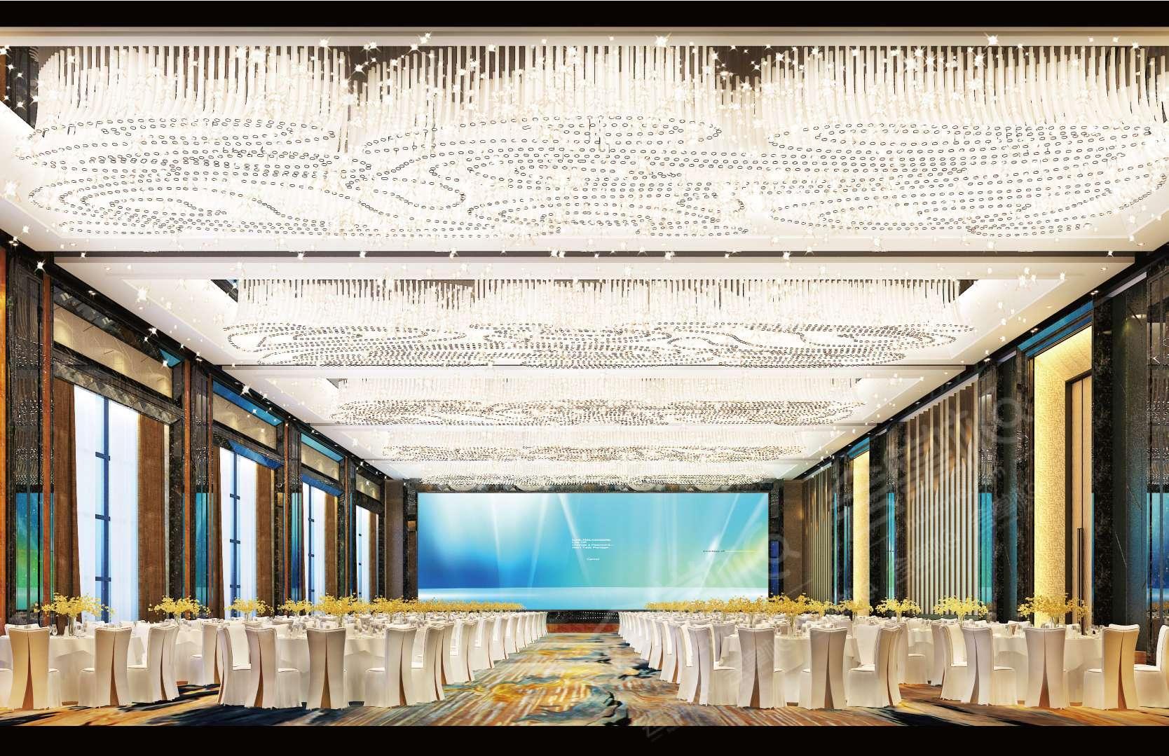 西安能容纳500人以上的五星级会议酒店推荐  西安发布会场地