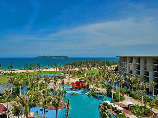 三亚海棠湾万达希尔顿逸林度假酒店