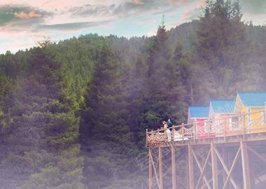 乌鲁木齐南山逸景滑雪别墅营地