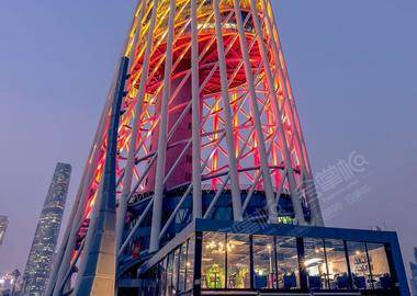 广州塔二层平台南门2楼森岩射箭中心二楼