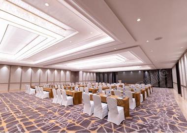 中庚聚龙大宴会厅Ⅱ+Ⅲ Grand BallroomⅡ+Ⅲ